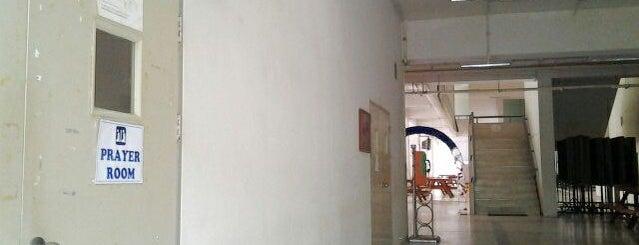 Prayer room, Faculty of Liberal Arts, Prince of Songkla University, Hatyai campus is one of มัสยิด, บาลาเซาะฮฺ, สถานที่ละหมาด.