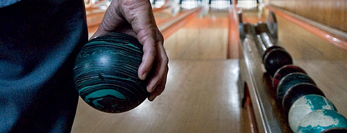 "Stoneleigh Duckpin Bowling Center is one of Nostalgic Baltimore - ""Duck Pin Bowling""."