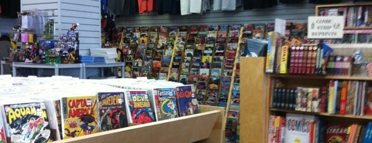 Bedrock City Comic Co. is one of comic shops.