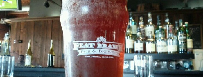 Flat Branch Pub & Brewing is one of CoMO Spots.