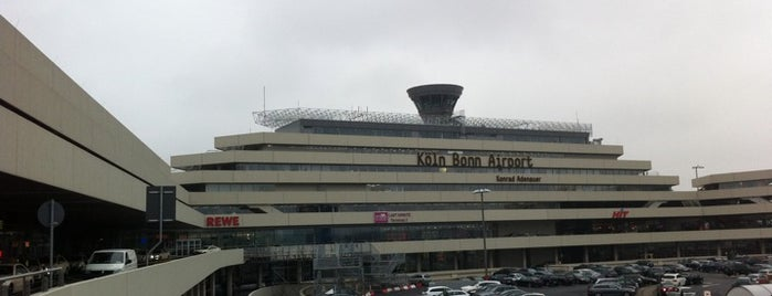 "Flughafen Köln/Bonn ""Konrad Adenauer"" (CGN) is one of World Airports."