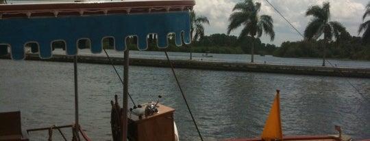 Gold Flag Boat, Magic Kingdom, Grand Floridian, Polynesian is one of Walt Disney World.