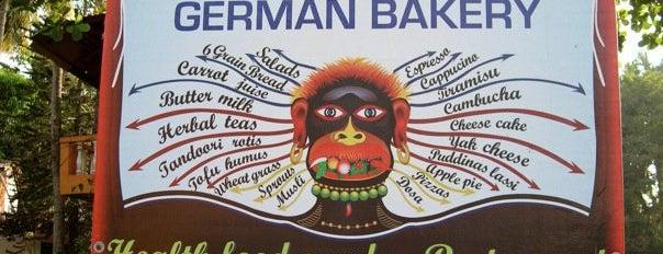German Bakery is one of Best of GOA, #4sqCities.