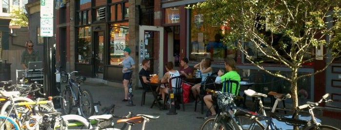 OTB Bicycle Cafe is one of Pittsburgh Vegetarian & Vegan.