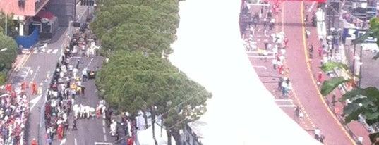 Start/finish Circuit Monaco is one of Favorite Arts & Entertainment.