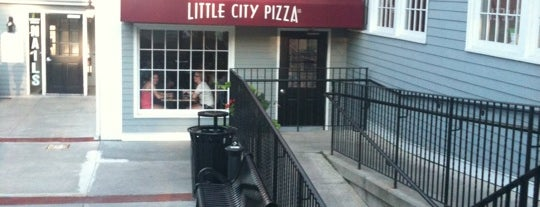 Little City Pizza is one of burrs.