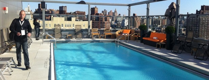 Gansevoort Meatpacking NYC is one of Day Drinking in the Great (NYC) Outdoors.