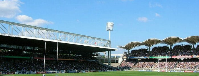 Matmut Stadium Gerland is one of Football Stadiums to visit before I die.