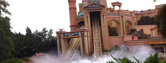 Journey to Atlantis is one of Must Ride Roller Coasters.