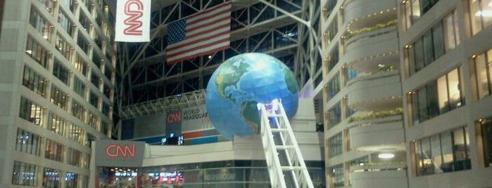 Omni Atlanta Hotel at CNN Center is one of Bill Clinton Foursquare Challenge.