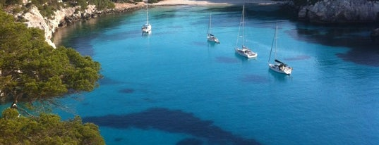 Cala Macarella is one of Menorca.