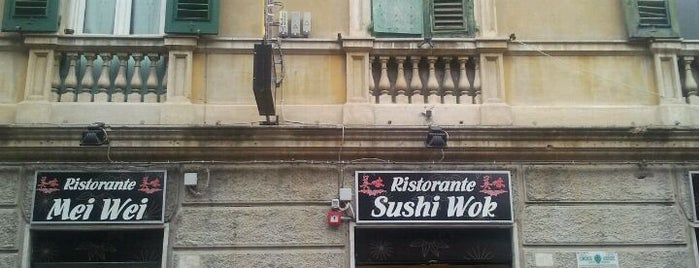Ristorante Meiwei Sushi Wok is one of Genova.