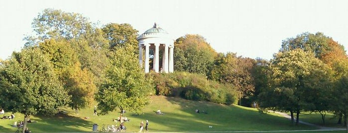 Englischer Garten is one of All the great places in Munich.