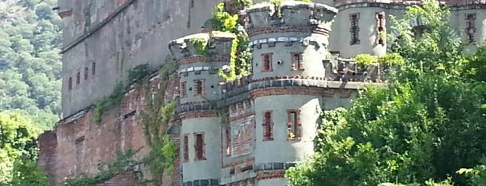 Bannerman Island (Pollepel Island) is one of Hudson Valley.