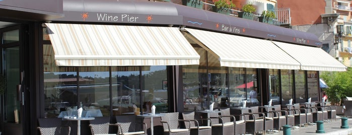 Wine Pier is one of FR2DAY's Favourite Cafés & Bars on the Côte d'Azur.