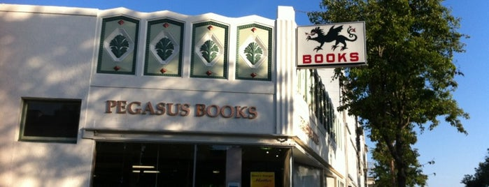 Pegasus Books is one of The 15 Best Places to Shop in Oakland.
