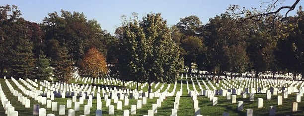 Arlington National Cemetery is one of ♡DC.