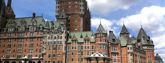 Fairmont Le Château Frontenac is one of Canada Favorites.
