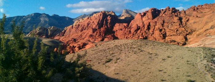 Red Rock Canyon National Conservation Area is one of The 15 Best Places for Sunsets in Las Vegas.