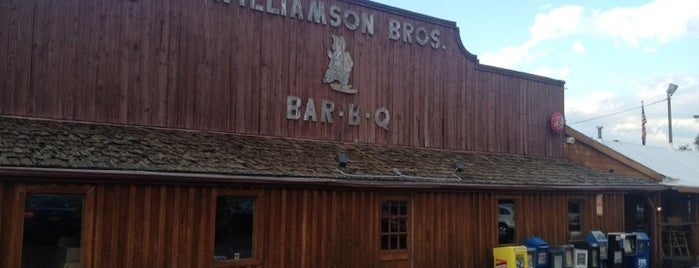 Williamson Bros Bar-B-Q is one of The Chad.