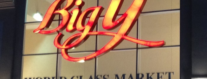 Big Y World Class Markets is one of shoppin places.