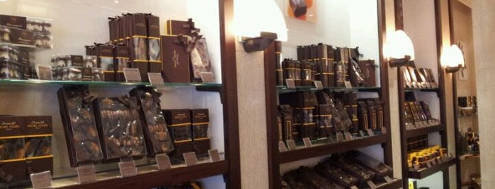 Michel Cluizel is one of Paris' Finest Chocolate Shops.