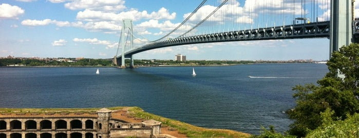 Fort Wadsworth is one of NYC To do.