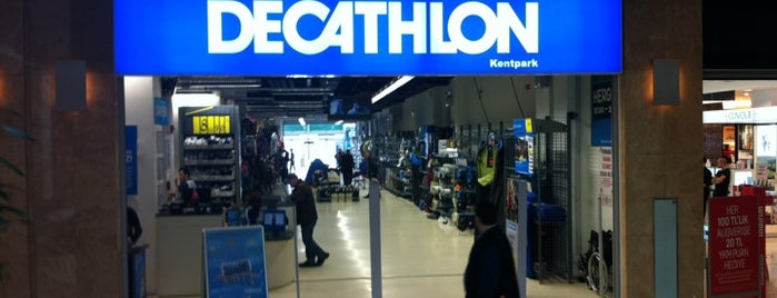 Decathlon is one of Özledikçe gideyim - Ankara.