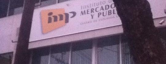 IMP Instituto de Mercadotecnia y Publicidad is one of DF Todas.