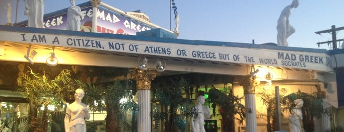 The Mad Greek Cafe is one of Diners, Drive-Ins, & Dives.