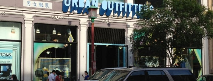 Urban Outfitters is one of Washington DC.