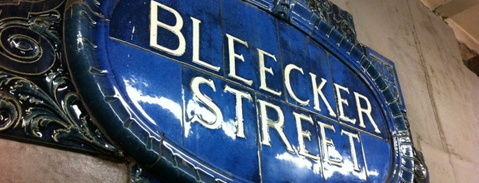MTA Subway - Bleecker St (6) is one of NYC Subways 4/5/6.