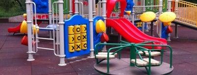 Детские площадки на Яузе is one of прогулки.