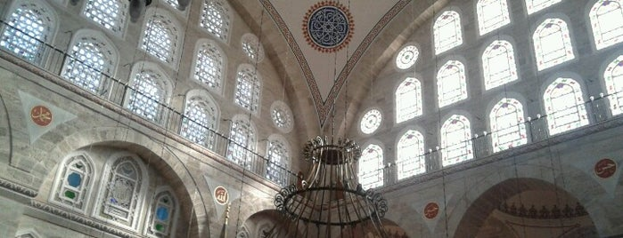 Mesquita de Mihrimah Sultan is one of İstanbul.