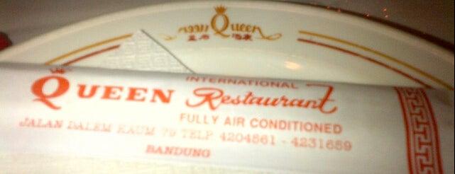 Queen International Restaurant is one of BandoengKuliner.