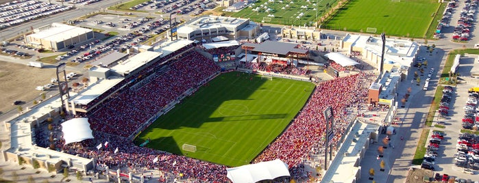 Toyota Stadium is one of Major League Soccer Stadiums.