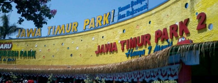 Jawa Timur Park 1 is one of Must-visit Great Outdoors in Malang.