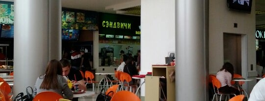 Ресторанный дворик is one of Санкт-Петербург.