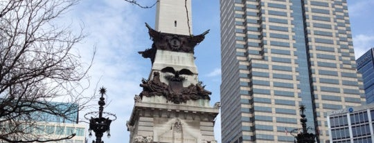 Monument Circle is one of The Best Places in Indianapolis - #VisitUs.