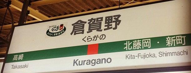 Kuragano Station is one of 東京近郊区間主要駅.