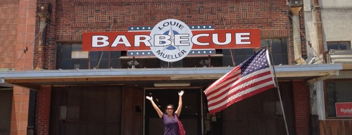 Louie Mueller Barbecue is one of 2013 TMBBQ Top 50.