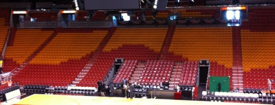 American Airlines Arena is one of Basketball arena.