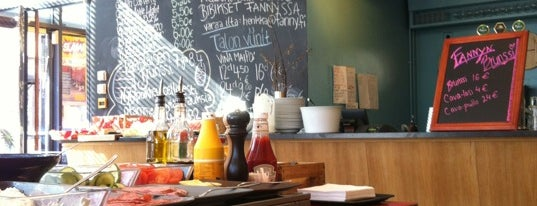 Fanny is one of My favorite lunches in Helsinki.