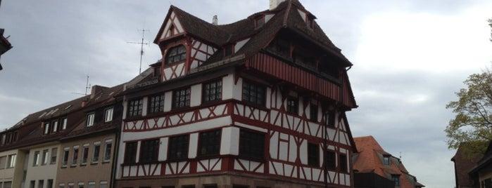Albrecht-Dürer-Haus is one of Nürnberg, Deutschland (Nuremberg, Germany).