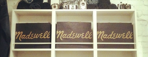 Madewell is one of Bean Town Shops & To-Dos.