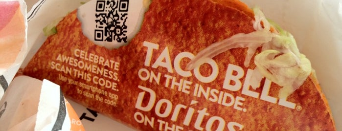 Taco Bell is one of Fast-foods.