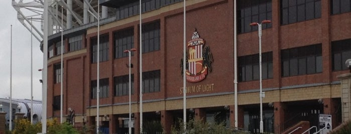 Stadium of Light is one of Barclays Premier League Grounds & Stadiums 2013/14.