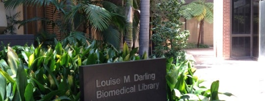 UCLA Biomedical Library (Louise M. Darling) is one of life of learning.