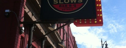 Slows Bar-B-Q is one of Motown.