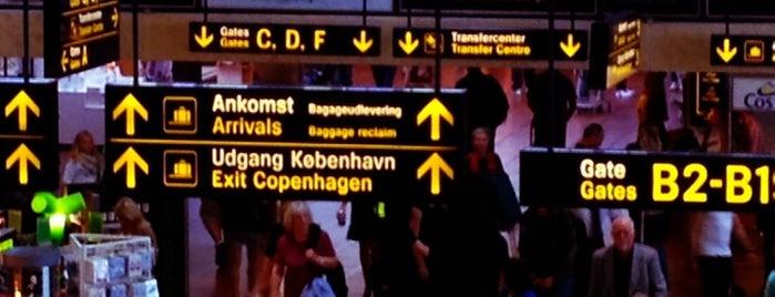 Copenhagen Airport (CPH) is one of I Love Copenhagen! #4sqcities.